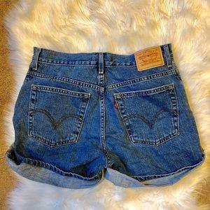 Levi's 550 relaxed denim shorts size 10